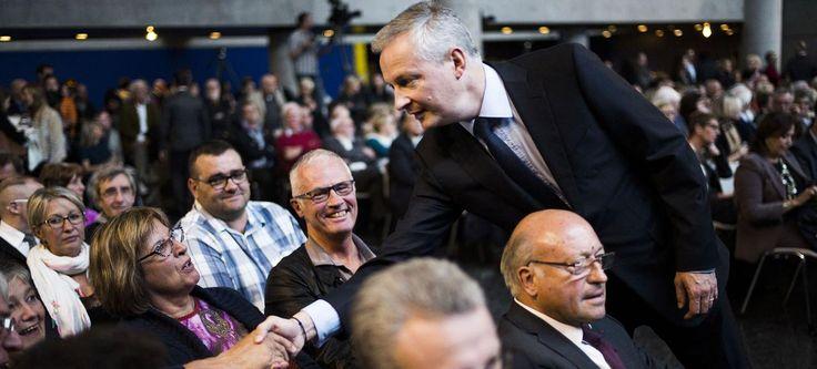 Primaire des Républicains: Le Maire espère créer la surprise