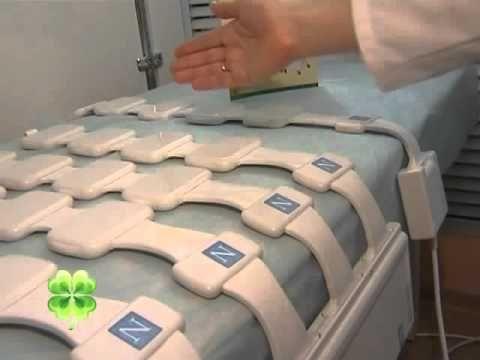 Сюжет о магнитотерапии с помощью аппарата Алмаг