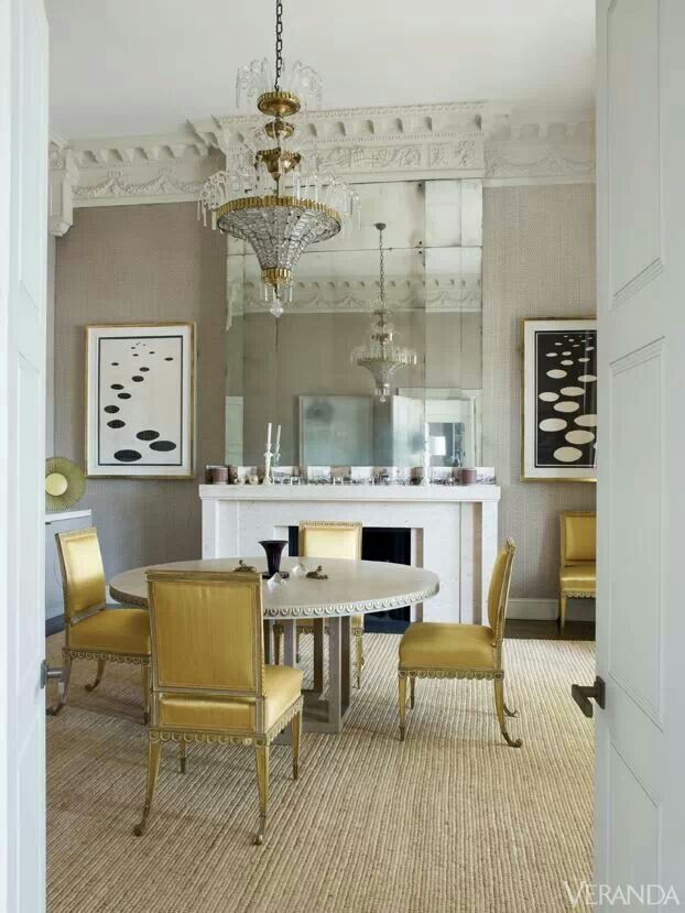 via veranda magazine - Veranda Dining Rooms