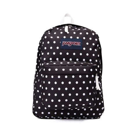 Connect the dots with the new Superbreak Polka Dot Backpack from JanSport!