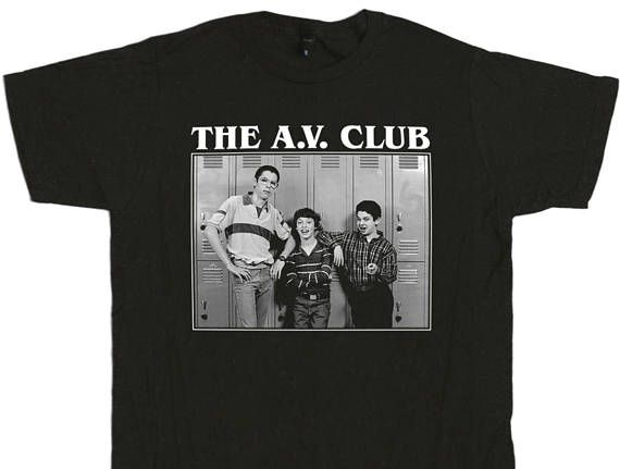 LOVE!!! Freaks And Geeks The A.V. Club T-Shirt  Audio Visual