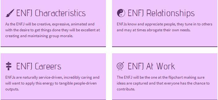 ENFJ Personality Type Profile