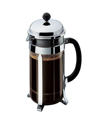 French Press - give me Kona coffee made in this and I am in heaven.  KG