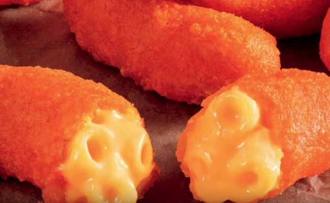 Here's How To Make Burger King's New Mac-N-Cheese Stuffed Cheetos At Home