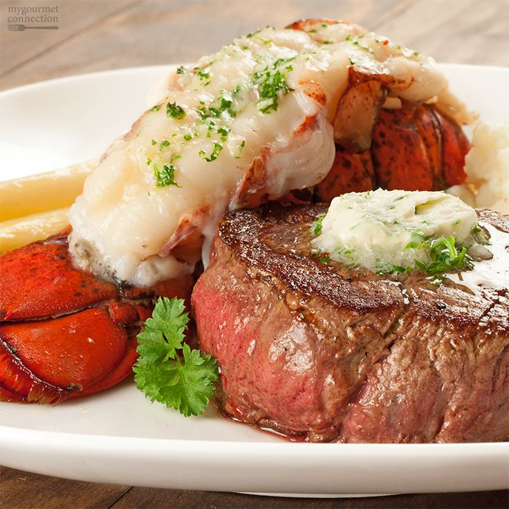 Celebrate Valentine's Day at home - make our Surf and Turf Dinner For Two - from MyGourmetConnection