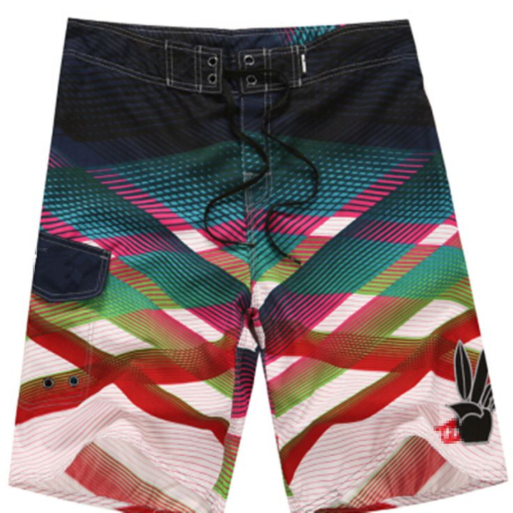 1 Piece/lot 2016 New Designer brand fashion board shorts mens beach pants casual Quick Dry shorts Plus size S M L XL XXL