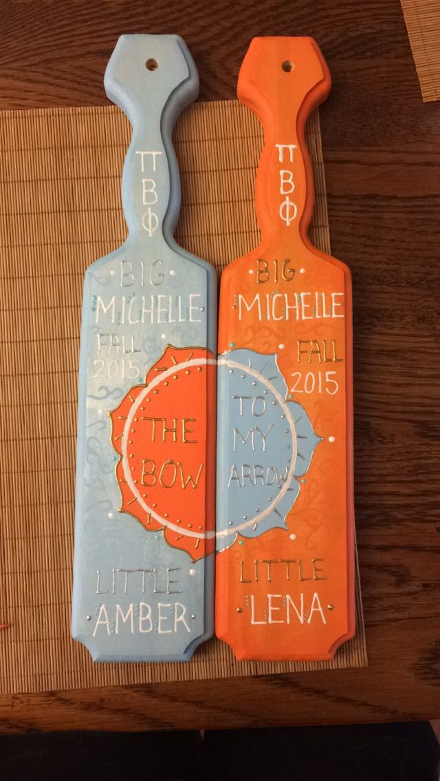 Best 25 fraternity paddles ideas on pinterest sorority paddles sorority paddles for twin littles pronofoot35fo Gallery