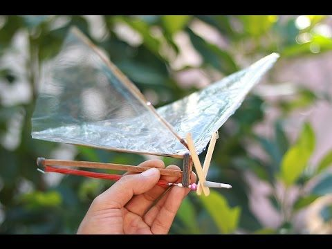 DIY Rubber Band Butterfly - How to Make a Rubber Band Butterfly - YouTube