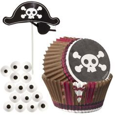 Wilton Cupcake Decoratie Kit Piraat
