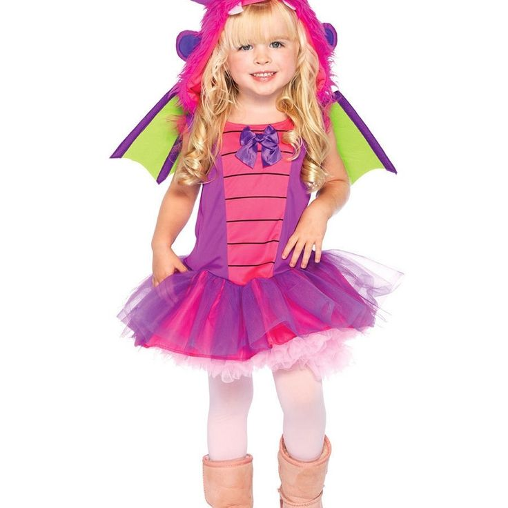 Lil Dragon Costume For Toddler Girls Knight And Dragon