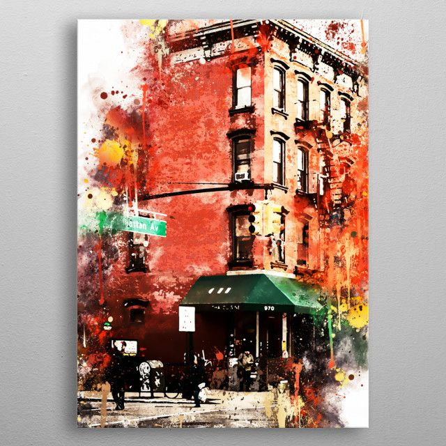 Street Angle United States Poster Print Metal Posters Poster