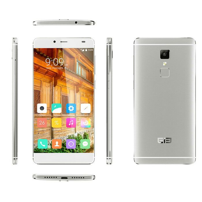 """ELEPHONE S3 Android 6.0 5.2"""" 4G Phone w/ 3GB RAM, 16GB ROM - Silver"""