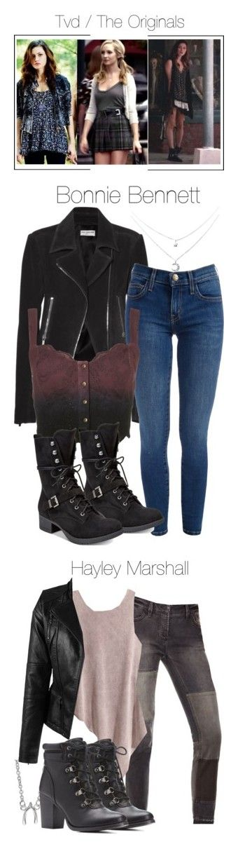 """""""The Vampire Diaries / The Originals #3"""" by shadyannon ❤ liked on Polyvore featuring Balenciaga, Topshop, American Rag Cie, Free People, Itsy Bitsy, H&M and Charlotte Russe"""