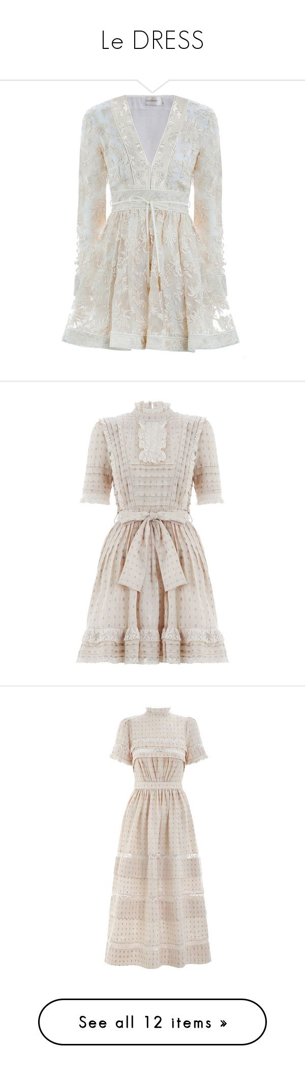 """""""Le DRESS"""" by halcyon-heart ❤ liked on Polyvore featuring dresses, long sleeve dress, sheer long sleeve dress, embroidered dresses, sheer embroidered dress, long sleeve embroidered dress, white skater skirt, white polka dot dress, ruffle sleeve dress and white ruffle dress"""