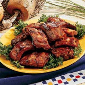 Honey-Garlic Pork Ribs: I DID these in the PRESSURE COOKER...Brown, then put in cooker, set to HIGH for 18 minutes...allow to naturally let out pressure.