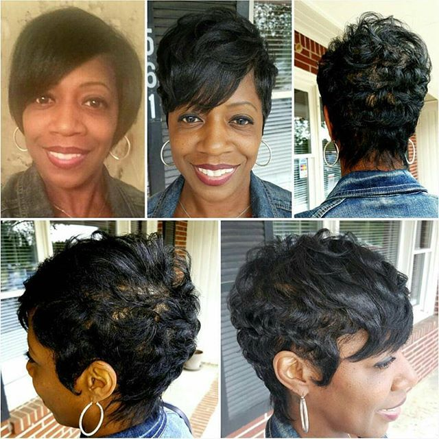 Top 100 short hairstyles for thick hair photos Thursday Morning Show-off! @serenitysalonbarber @y_trip @thecutlife @blackhairomg #shorthair #shorthairstyles #shortcut #shorthairdontcare #cutslayed #blackhair #blackhairstyles #bookyourappointment @genbook #serenity #serenitylifestyle @wetv www.serenitysalonandbarber.com See more http://wumann.com/top-100-short-hairstyles-for-thick-hair-photos/