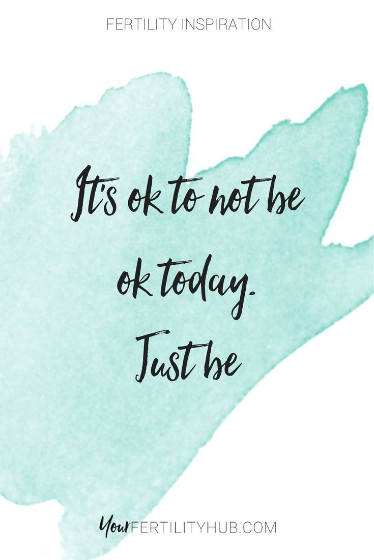 Some Days You Re Not Ok And That S Ok Mondaymotivation For More Support Join Us At Your Fert Support Quotes Thinking Of You Quotes Infertility Quotes