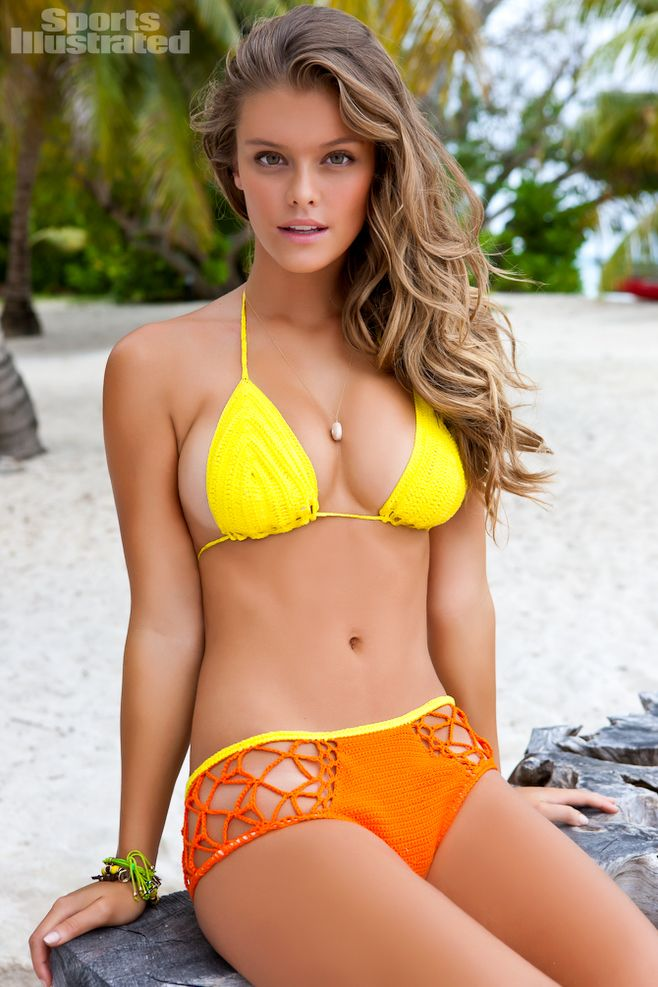 Nina Agdal - Sports Illustrated Swimsuit 2012 Location: Desroches Island, Seychelles Swimsuit: Swimsuit by Anna Kosturova Photographed by: James Macari