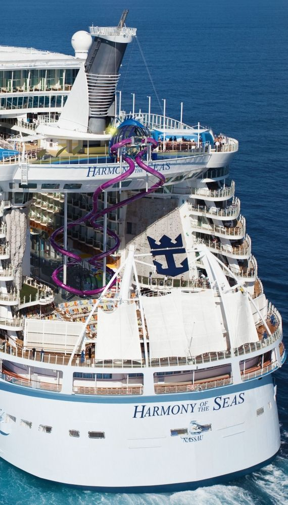 Harmony of the Seas | Only the brave will take the plunge down the all-new, 10-story-high Ultimate Abyss waterslide.