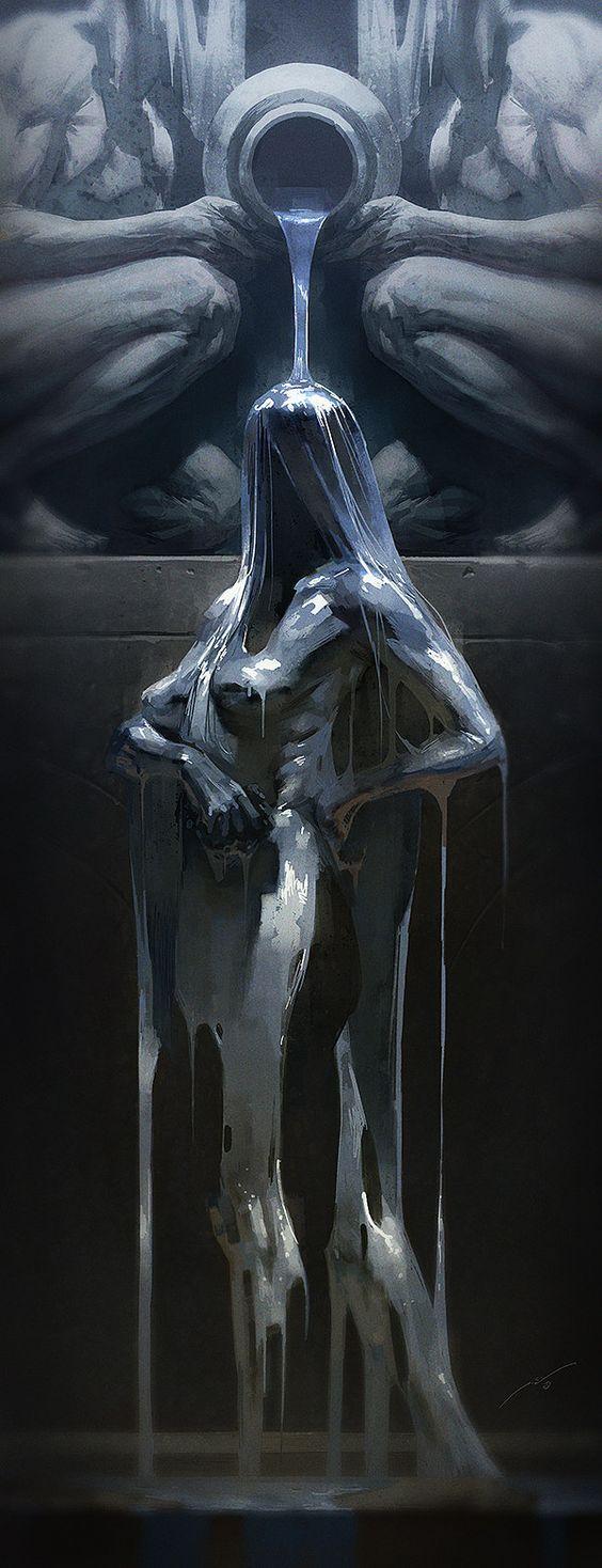 Concept Art by Pierre Droal: