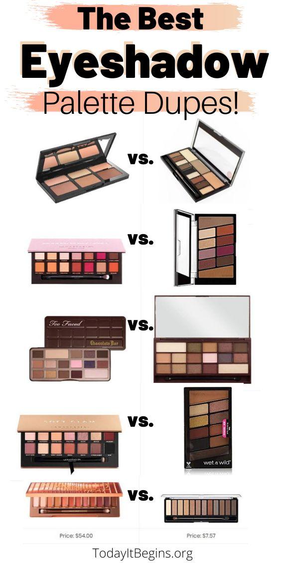 Good Drugstore Eyeshadow Palettes: Best Eyeshadow Palette Makeup Dupes! In 2020