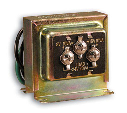Heath Zenith Sl 125 02 Wired Door Chime Transformer Doorbell Chime Doorbell Transformer Doorbell