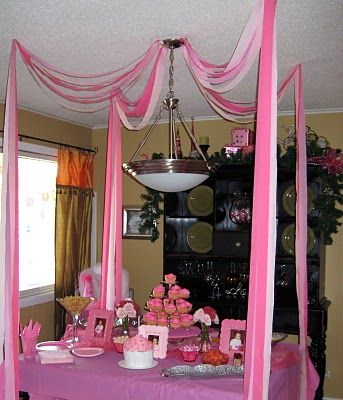 Pink Party - pretty and simple theme