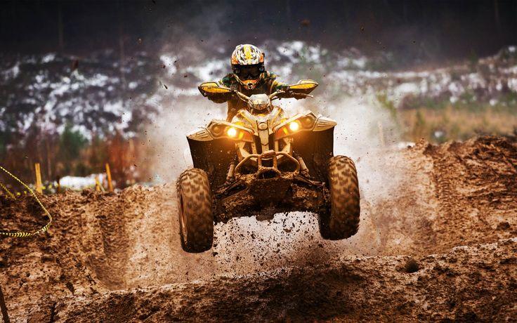 HD Widescreen atv motocross