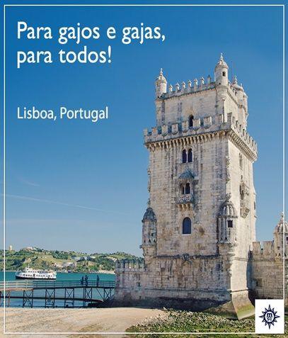 Pastel de belém e um país que também fala português? Conheça o país europeu que dá essa oportunidade a bordo de nossos navios! #Lisboa #Portugal #Cruzeiro