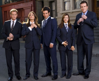 Bhahaha...suit the eff up!!!! - How I Met Your Mother