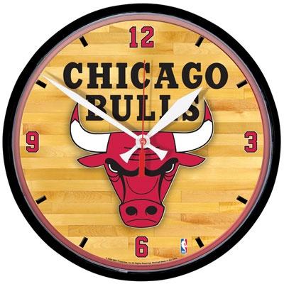 Chicago Bulls Round Clock $24.99