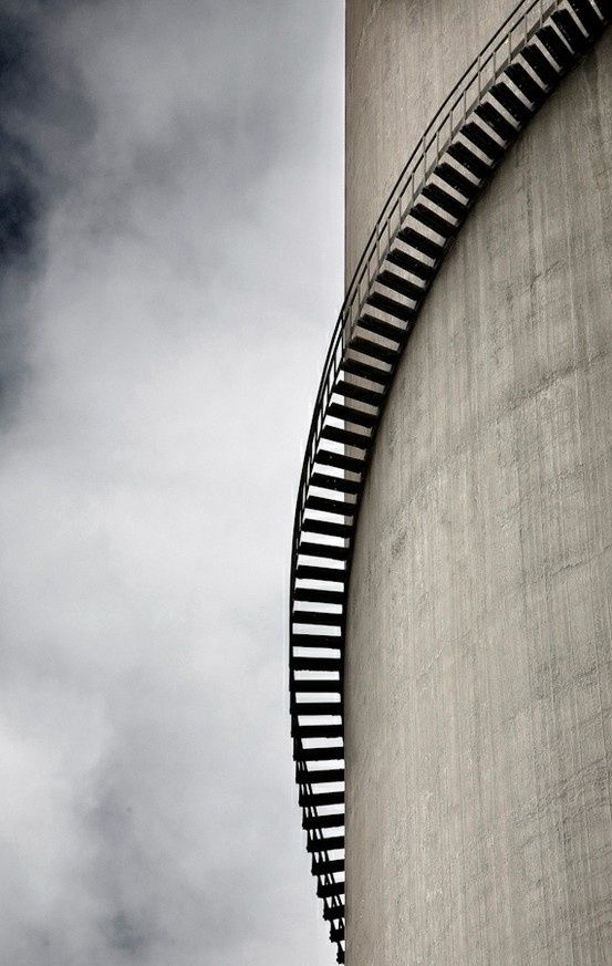 outside: Spirals Stairs, Spirals Stairca, Stairs Architecture, Spirals Step, Stairsbuild Architecture, Bangs Design, Design Architecture, Awesome Step, Architecture Stairs