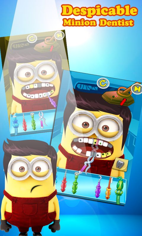 Minion Dentist ~ It's time to give these minions a dental checkup. So play dentist for a day and save these minions from getting those nasty germs.