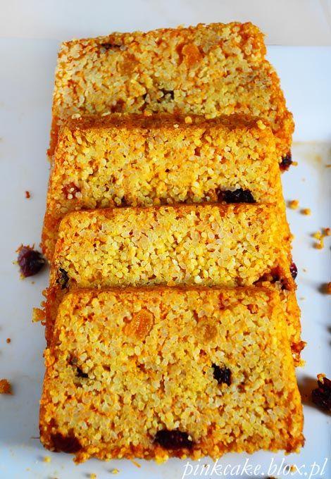Dietetyczne ciasto z dyni i kaszy jaglanej