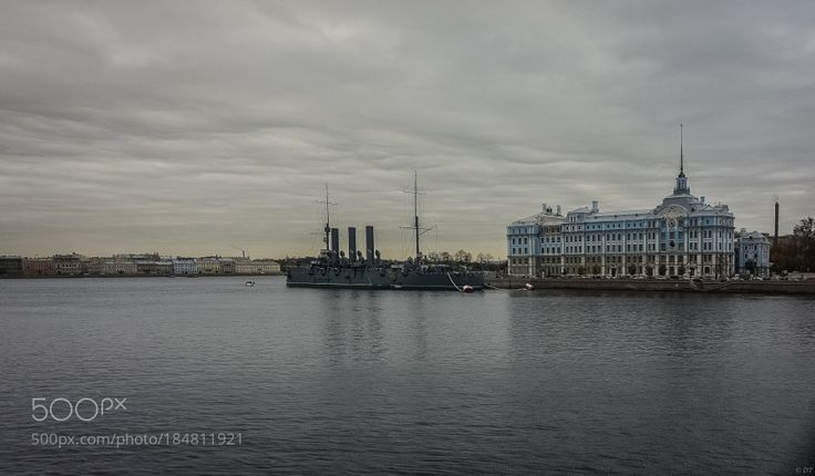 http://500px.com/photo/184811921 Warrior by dgt -Russia - St. Petersburg - Aurora Cruiser & NVMU Nakhimov Naval School  Soon after completion in November 1903 Aurora received orders to sail with a group of reinforcements to the Russian Pacific Fleet. However she suffered from repeated mechanical failures and had to be repaired at several ports along the way. When word was received of the start of the Russo-Japanese War while at Djibouti she was detached from the reinforcement fleet and sent…