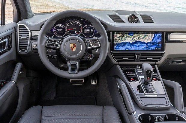 Porsche Cayenne Turbo 2018 Foto Divulgação Interior