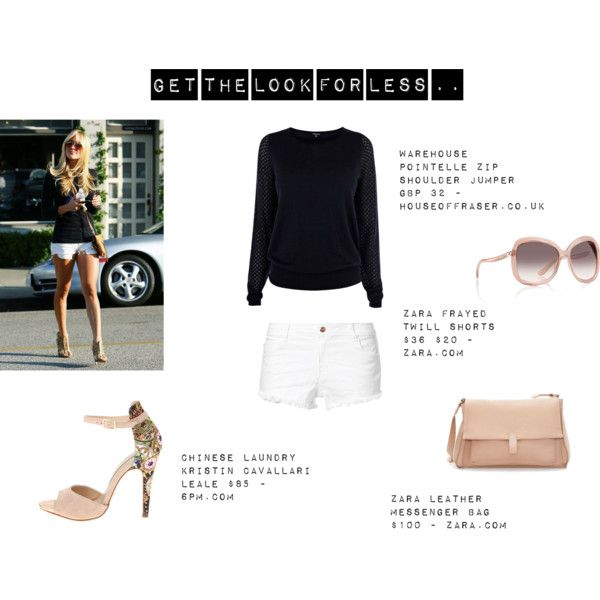 """""""Get Kristin Cavallari's Look for Less ..."""" by thewhiteboard on Polyvore"""