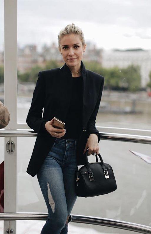 058bd0362f7484 Kristen Cavallari winter style   Fashion in 2019   Rocker chic style ...