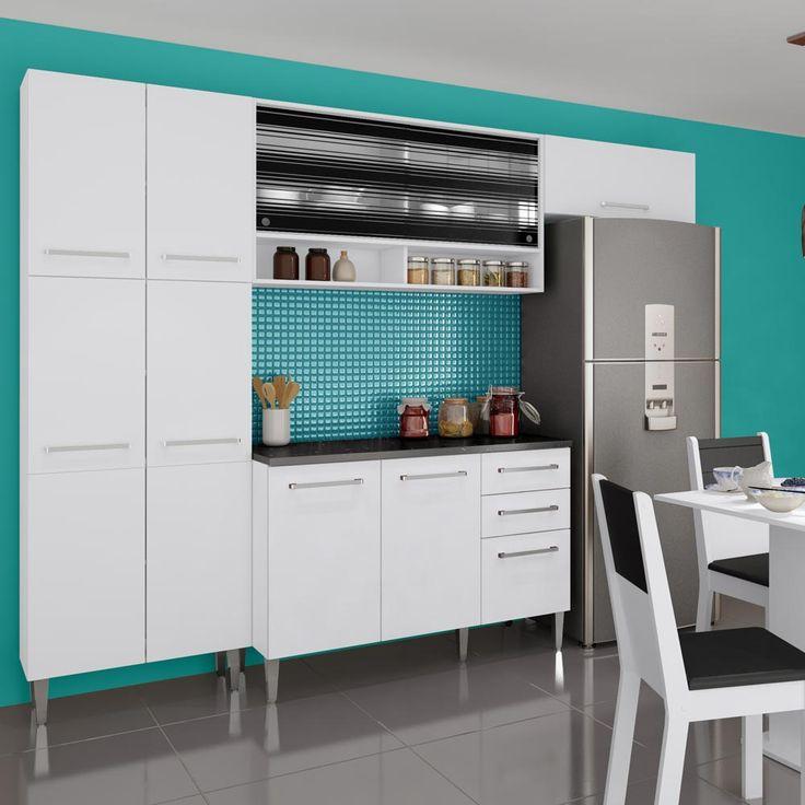 Gostou desta Kit Cozinha Amarilis Elis Glamy 05 Peças Branco - Madesa, confira em: https://www.panoramamoveis.com.br/kit-cozinha-amarilis-elis-glamy-05-pecas-branco-madesa-5752.html