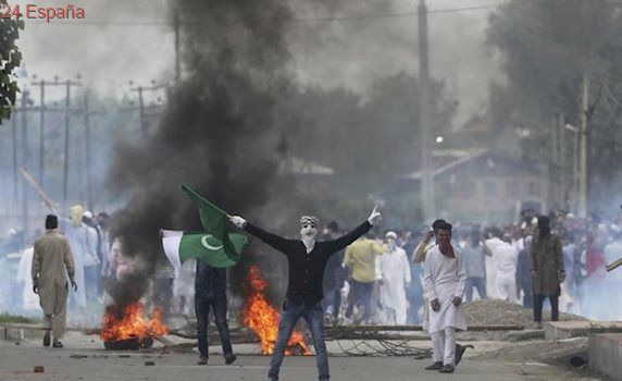 Un año 'negro' en Cachemira