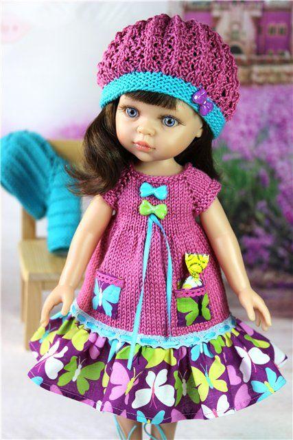 Комплект для куколки от Paola Reina. (4) / Обувь для кукол / Шопик. Продать купить куклу / Бэйбики. Куклы фото. Одежда для кукол