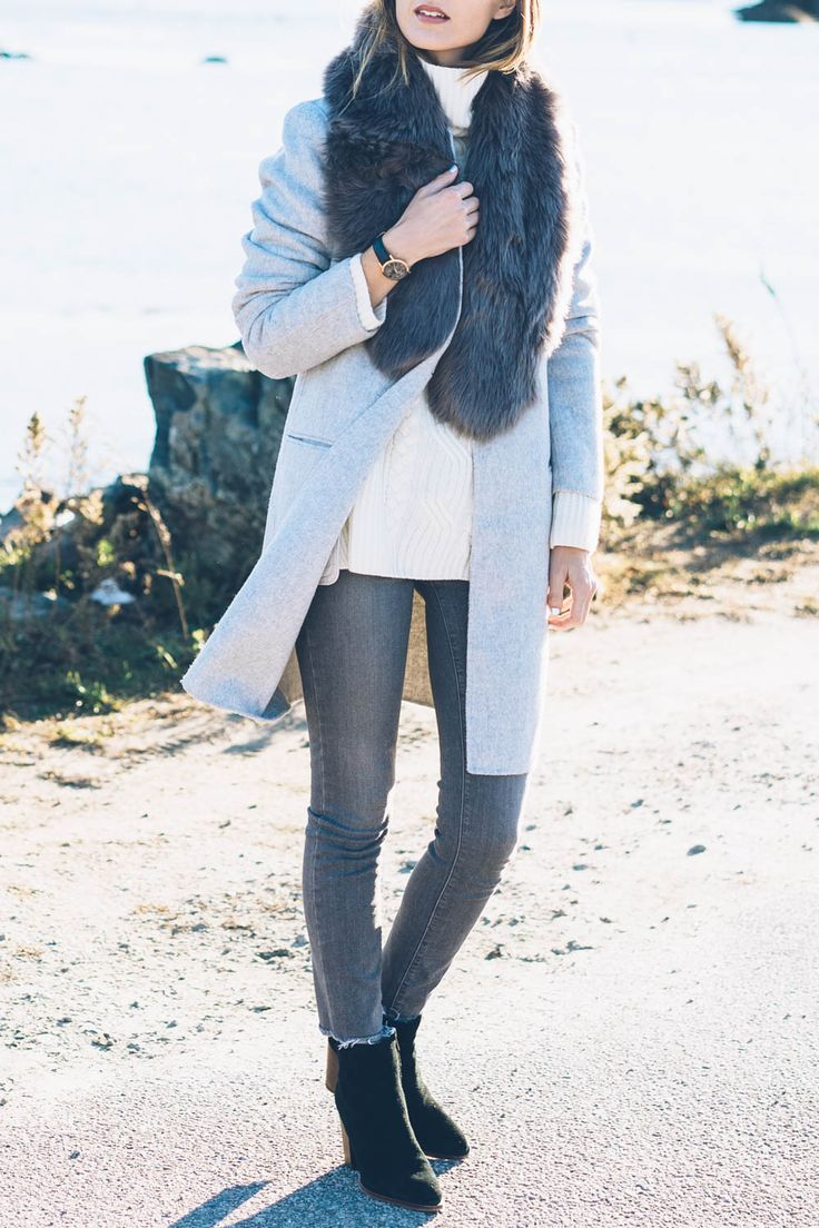Chic and timeless outfit on Jess Ann Kirby wearing Paige ...