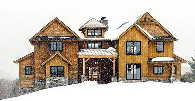 Rugged Rustic With Second Floor Bridge - 18752CK thumb - 01