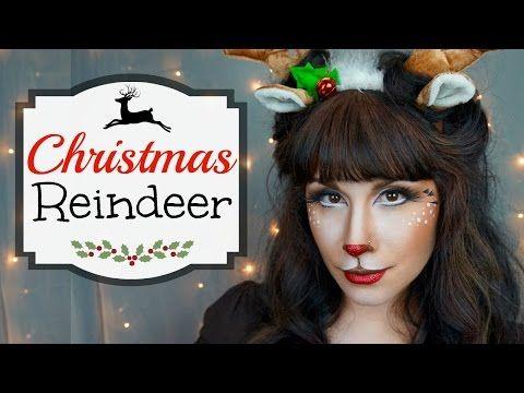 Killer Christmas Elf Makeup Tutorial / Face Painting - YouTube