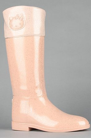 Hello Kitty Footwear  The Angelina Rain Boot in Pink  Sale $57.95  $100.00     42% Off
