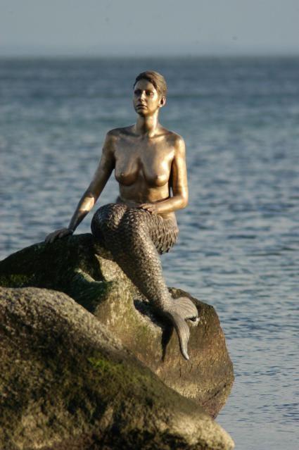 Travemünde mermaid