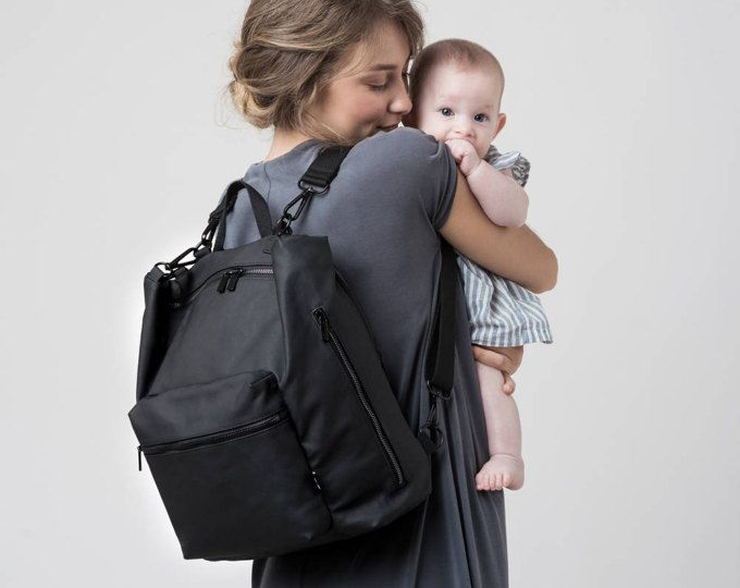 Small Diaper bag, Baby bag backpack,Nappy changing bag,Unique diaper bag,Stylish diaper bag,Diaper backpack, Unisex,Canvas backpack,Laptop