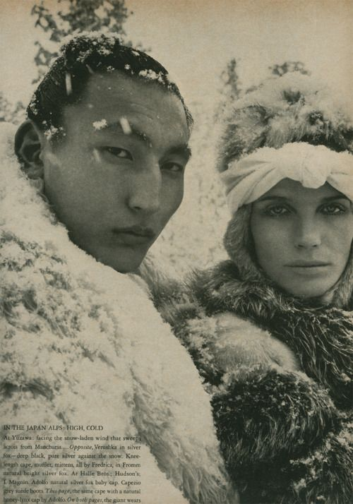 verushka in japan 1966 shot by richard avedon httpwww
