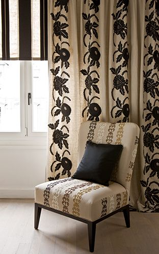 17 best images about pierre frey on pinterest fabric wallpaper fabrics and nyc - Tissus d ameublement paris ...