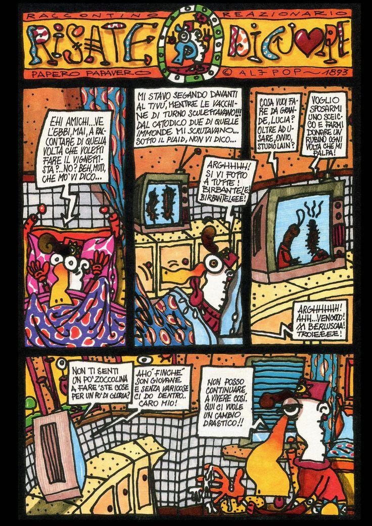 Risate di cuore, numero 2 anno 1, 1993 Immagine e testi di Ale Pop